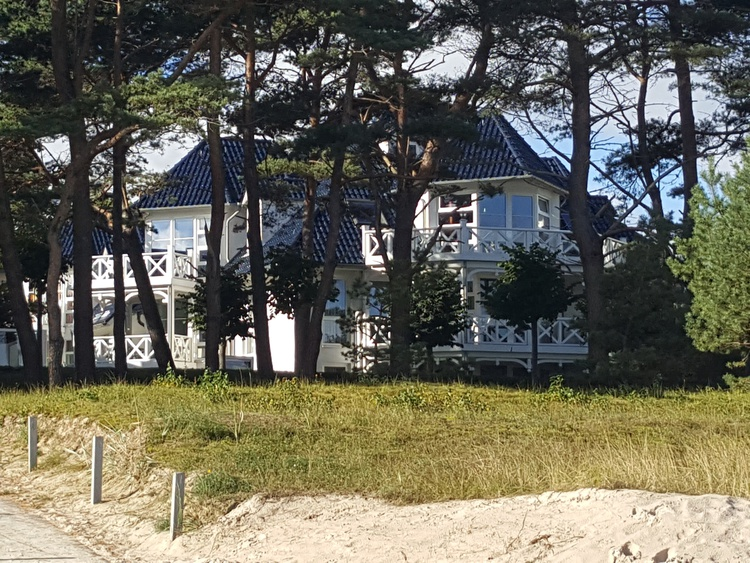 Haus Strelasund: directly in front of the sea!