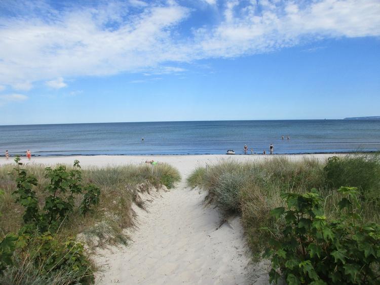 Ihr Weg zum Strand ca. 50 m