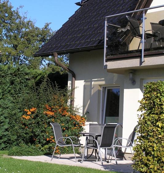 3-Zimmer -Ferienwohnung mit Sonnenterrasse (Südausrichtung)