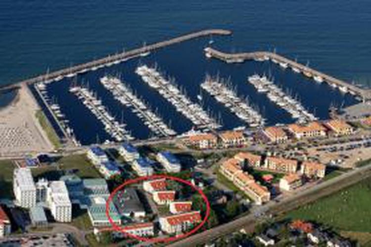 Hafen und Strand fussläufig erreichbar
