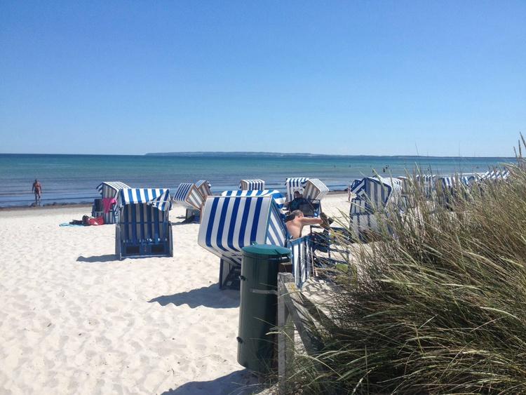 Strand der Schaabe 50 m entfernt