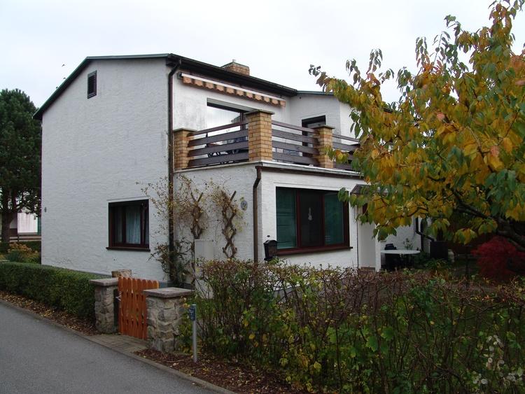 """Das Feriendomizil """"Uns Ollernhuus Usedom"""" steht ruhig gelegen in Karlshagen."""