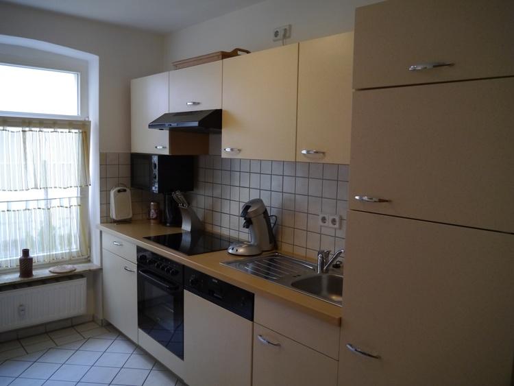Küchenblock mit Geräten